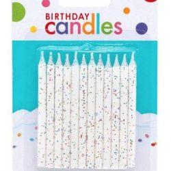 Velas de cumpleaños con diamantina
