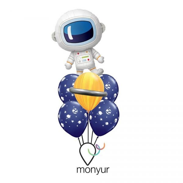 Globo Astronauta intrépido con helio