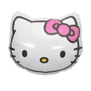Globo Hello Kitty con helio