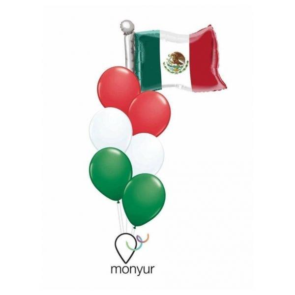 Globos Bandera de México