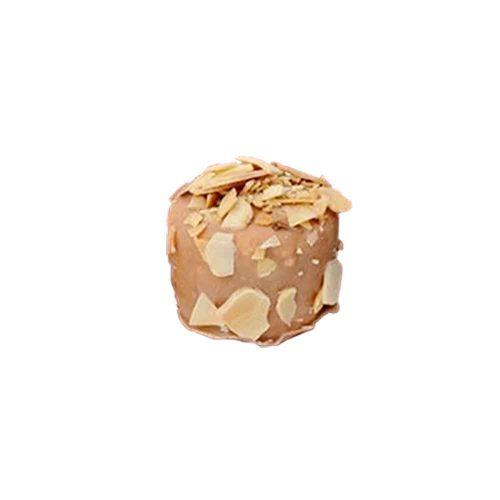 bombón cubierto de chocolate