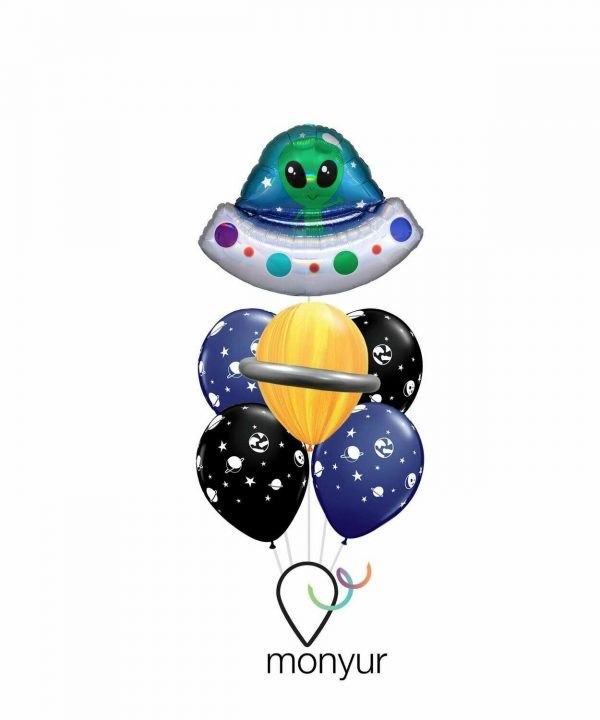 ovni globo con helio