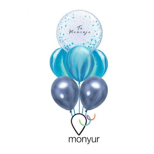 globo personalizado con helio
