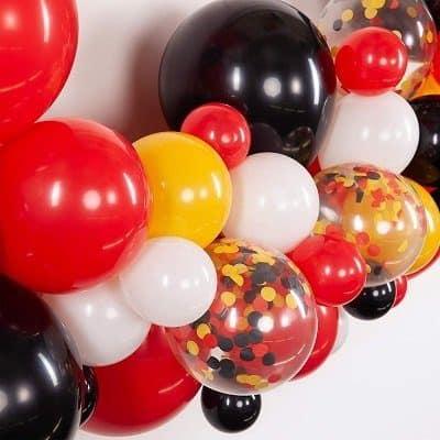 Medioambiente y globos de látex