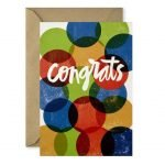Tarjeta de Graduación Congrats
