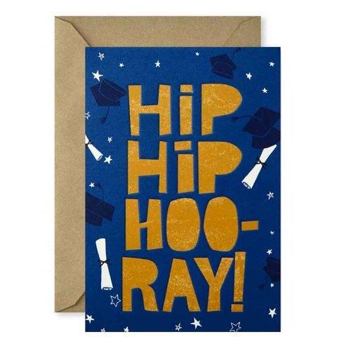 Tarjeta de Graduación Hip Hip Hooray